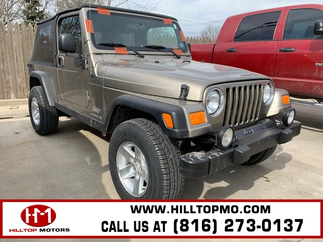 Pre-Owned 2004 Jeep Wrangler Unlimited