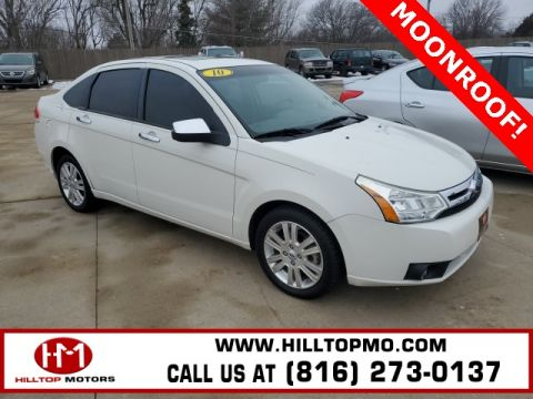 Pre-Owned 2010 Ford Focus SEL FWD 4D Sedan