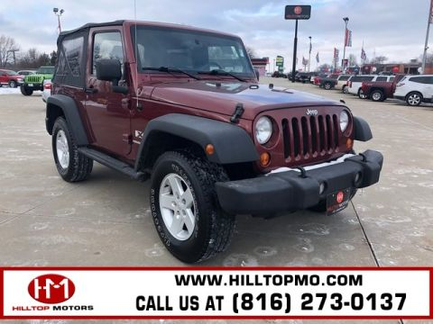 Pre-Owned 2007 Jeep Wrangler X 4WD