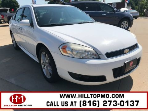 Pre-Owned 2012 Chevrolet Impala LTZ FWD 4D Sedan