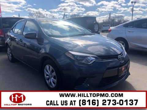 Pre-Owned 2016 Toyota Corolla LE FWD 4D Sedan