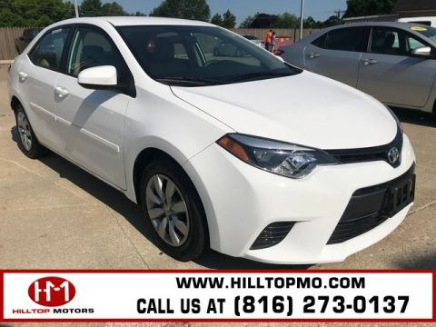 Pre-Owned 2015 Toyota Corolla LE FWD 4D Sedan