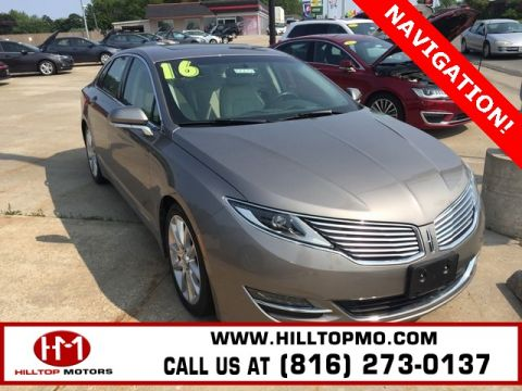 Pre-Owned 2016 Lincoln MKZ Base FWD 4D Sedan