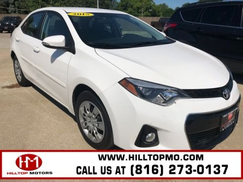 Pre-Owned 2015 Toyota Corolla L FWD 4D Sedan