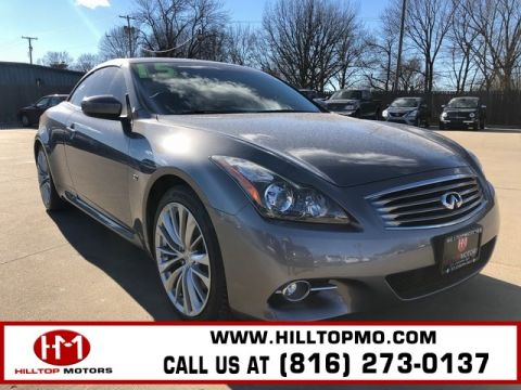 Pre-Owned 2015 INFINITI Q60 Base RWD 2D Convertible